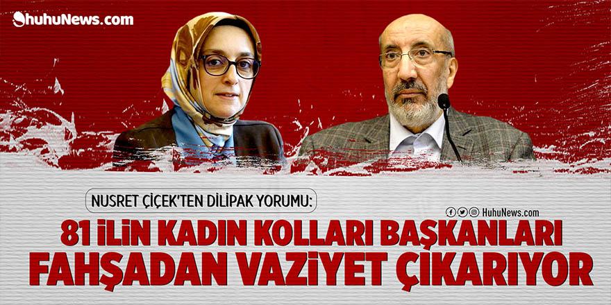 HuhuNews.com yazarı Nusret Çiçek'ten Dilipak tepkisi: Ak Partili Ak Partili ile çarpışıyor!