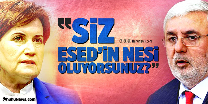 """Metiner'den Akşener'e tepki: """"Siz Esed'in nesi oluyorsunuz?"""""""